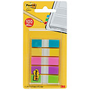 Post-it mín. 100 marcadores a juego 12 x 44 mm