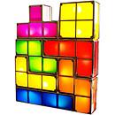 Tetris - Lampe d'ambiance modulable 7 pièces