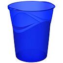 CEP Happy Corbeille à papier Bleue 14 litres