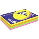 Clairefontaine Trophée Ramette de papier 500 feuilles A4 80g Assortis Fluo