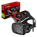 HTC Kit Vive + carte graphique (NVIDIA GeForce GTX 1060 6 Go)