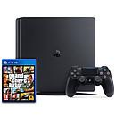 Sony PlayStation 4 Slim (1 To) + Grand Theft Auto V (GTA 5)
