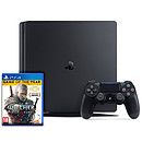 Sony PlayStation 4 Slim (500 Go) + The Witcher III : Wild Hunt - Game Of The Year Edition
