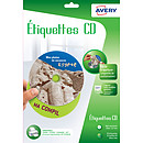 Avery Etiquettes CD 117 x 117 mm x 30