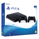 Sony PlayStation 4 Slim (1 To) + 2 DualShock
