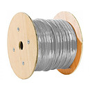Cable RJ45 categoría 6a S/FTP 500 m (Gris)