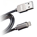 LDLC Cable metálico LT USB/Lightning (certificado MFI) - 1 m