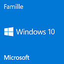 Microsoft Windows 10 Famille 32/64 bits - Version clé USB