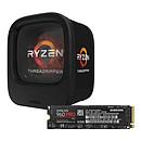 AMD Ryzen Threadripper 1900X (3.8 GHz) + Samsung SSD 960 PRO M.2 PCIe NVMe 512 Go