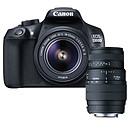 Canon EOS 1300D + EF-S 18-55 mm IS II + SIGMA 70-300mm f/4-5.6 DG Macro
