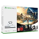 Microsoft Xbox One S (1 To) + Assassin's Creed : Origins + Rainbow Six : Siege