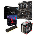 Kit Upgrade PC Core i7K MSI Z370-A PRO 8 Go