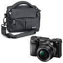 Sony Alpha 6000 + Objectif 16-50 mm Noir + Cullmann Malaga Vario 200 Noir