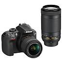 Nikon D3400 + AF-P DX 18-55 VR + AF-P DX 70-300 VR Noir