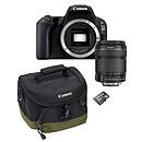 Canon EOS 200D + 18-135 IS STM + 100EG + SanDisk 16 Go