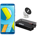 Honor 9 Lite Bleu (3 Go / 32 Go) + Power Bank QS10K + Auto S1