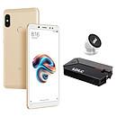 Xiaomi Redmi Note 5 Or (3 Go / 32 Go) + LDLC Power Bank QS10K + Auto S1