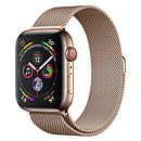 Apple Watch Series 4 GPS + Cellular Acier Or Milanais Or 40 mm