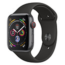 Apple Watch Series 4 GPS + Cellular Aluminium Gris Sport Noir 40 mm