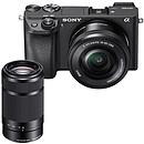 Sony Alpha 6300 + 16-50mm + 55-210mm Noir