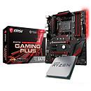 Kit de actualización PC AMD Ryzen 5 2600X MSI X470 GAMING PLUS