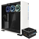 IN WIN 303 AURORA Edition Blanc + F2 600W 80PLUS Bronze OFFERT !
