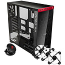 IN WIN 805C Black/Red + iEar + Polaris RGB x 3 OFFERTS !