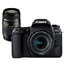 Canon EOS 77D + 18-55 IS STM + Tamron AF 70-300mm F/4-5,6 Di LD MACRO 1:2