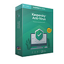 Kaspersky Anti-Virus 2019 - Licence 1 an 3 postes
