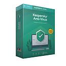 Kaspersky Anti-Virus 2019 - Licence 1 an 3 postes
