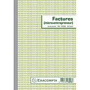 Exacompta Manifold Factures Micro-Entrepreneur 21 x 14.8 cm