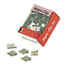 JPC Recambios de 50 Clips Cromados 6 mm