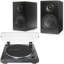 Audio-Technica AT-LP60XBT Noir + Triangle Elara LN01A Noir
