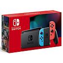 Nintendo Switch v2 + Joy-Con droit (rouge) et gauche (bleu)