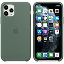 Apple Funda de silicona Bosque de pino Manzana iPhone 11 Pro