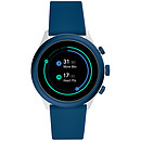 Fossil Sport 43 Smartwatch (43 mm / Silicone / Bleu)