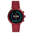 Fossil Sport 43 Smartwatch (43 mm / Silicona / Rojo)