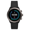 Fossil Sport 43 Smartwatch (43 mm / Silicona / Negro)