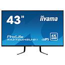 "iiyama 42.5"" - ProLite X4372UHSU-B1"