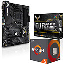 Kit Upgrade PC AMD Ryzen 5 2600 ASUS TUF B450-PLUS GAMING