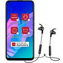Huawei P40 Lite E Negro + auriculares deportivos Bluetooth AM61 gratis!