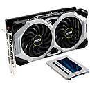 MSI GeForce RTX 2060 SUPER VENTUS GP OC + Crucial MX500 1 To