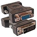 Adaptateur DVI-I Dual Link mâle / VGA femelle