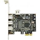 Tarjeta controladora PCI-Express con 4 puertos FireWire 800 (de los cuales 1 interno)