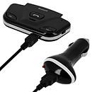 Avizar Kit main libre voiture Noir pour Smartphones et tablettes compatibles Bluetooth