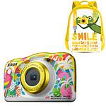 Nikon Coolpix W150 Playa + Mochila