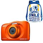 Nikon Coolpix W150 Naranja + Mochila