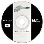 Tx DVD-R 4.7 Go Certifié 16x (pack de 10, spindle)