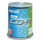 Maxell CD-R (pack de 100, Spindle)