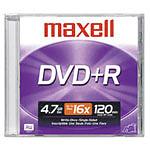 Maxell DVD+R 4.7 Go Certifié 16x (pack de 10)